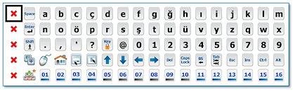 HAYDi:Switch Pro FQ Ekran Klavyesi
